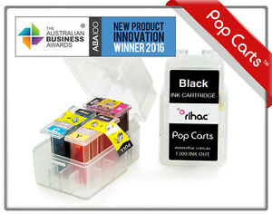 RIHAC Pop Cart Ink Insert suits Canon TS3360 TS3365 PG-645 CL-646 cartridge DIY