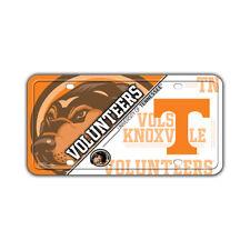 Metal Vanity License Plate Tag Cover - University of Tennessee Volunteers