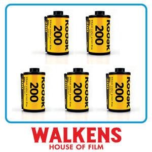 5 ROLLS - Kodak Gold 200 35mm 24exp Camera Film - FLAT-RATE AU SHIPPING!