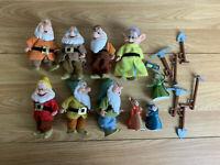 Walt Disney Snow White & The 7 Dwarfs Plastic Toys With Tools