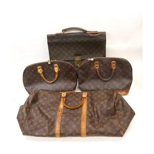 Louis Vuitton Monogram Hand/Boston Bag Brief Case 4pc set Keepall 50 526061