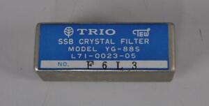 KENWOOD YG-88S SSB CRYSTAL FILTER for TS-820