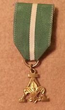 Vintage Boy Scouts Scouters Training Award Medal 10K Gold Filled-PREOWNED A00865