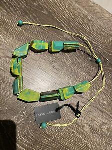Ruby Olive Adjustable Necklace