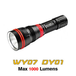 Archon WY07 DY01 1000 Lumens LED Scuba Diving Light Underwater Flashlight Torch
