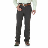 Mens Wrangler Wrancher® Dress Western Cowboy Fits Over Boots Jean Dark Chocolate