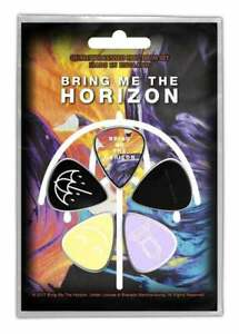 Bring Me The Horizon Set of 5 Plectrum Pack / Guitar Picks (rz)