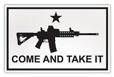 Large Size Magnet - Come And Take It Flag, Molon Labe (AR-15) - Gun Rights
