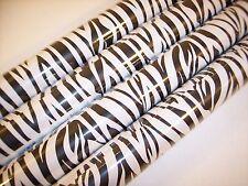 Zebra Wrapping Paper Animal Gift Wrap Black White Stripes 21Ft. 35 Sq 1 Roll