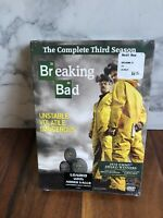 Breaking Bad: The Complete Third Season (DVD, 2011, 4-Disc Set) NEW