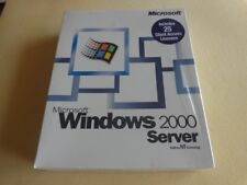 100% Genuine: Microsoft Windows 2000 Server 25 CAL Retail Box (MPN: C11-00019)