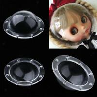 5-14cm Space Transparent Mask Doll Head Protection Cover for Blythe 1/3 1/6 BJD