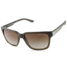 Armani Exchange AX4026S 812113 Olive/Brown Gradient Unisex Sunglasses