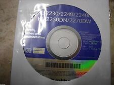 New ! Genuine Brother HL 2250DN HL- 2270DW Printer CD Software Drivers Utilities