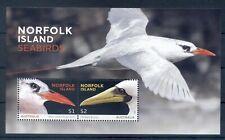 NORFOLK ISLAND *2016 * M/Sheet (2 stamps) * MNH** Sea Birds - Mi.No BL 64