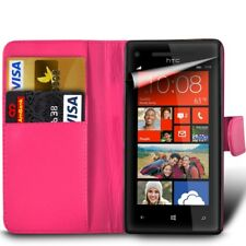 Samsung Phone Leather Wallet Book Style Case Cover with Card Slots