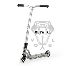 2018 Vokul Meta X1 Pro Stunt Scooter Hydrographic Snake Skin Bright 3D Forged