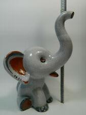 Very rare  Grosser Keramik Elefant Pottery Elephant  Walter Bosse 40cm Hoch