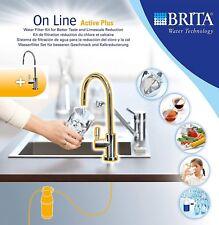 Brita Robinet avec Filtre à Eau Intégré On Line Active Plus+1 Cartouche Filtre
