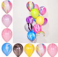 10x Rainbow Graffiti Latex Ballons Birthday Party  Wedding Chrimas Decoration