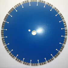 "Blade 14"" (Pack of 05 Blades) SupremeTurbo Blue cutting Brick/Pavers/Concrete."