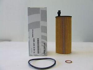 Genuine BMW Oil Filter Diesel 1/3/5/6/X1/X3 Part Number 11428507683 UK