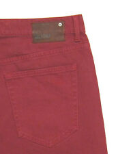 NWT SOLD OUT DL1961 Jeans Nick Classic Slim straight leg in Captain red sz 35