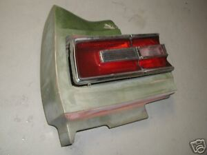 PLYMOUTH FURY III FURY 3 TAIL TAIL LIGHT & BUMPER 196*