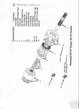 KAWASAKI  NV137DT Hydraulic/Hydrostatic Roller Bearing