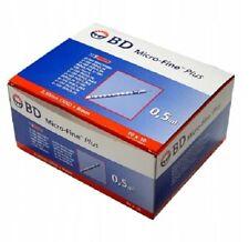 Strzykawki insulinowe BD Micro-Fine 30Gx8 0,5ml   U-100 - 100szt/pc.