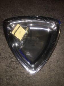 NEW Lenox Vibe Chip and Dip Metal Serveware