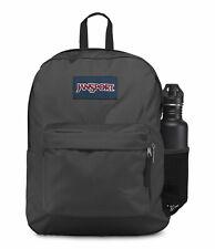 Jansport Backpack Hyperbreak Coated BLACK 25L Luggage Skate School Travel Bag