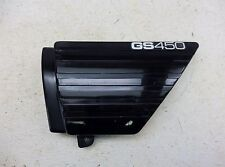 1980 Suzuki GS450 GS 450 S548-1. left side cover