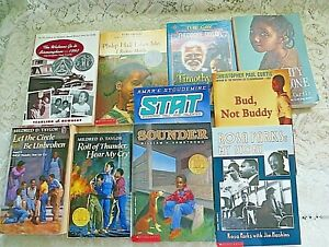 Lot of 12 Children's African American  theme Chapter Books VGC