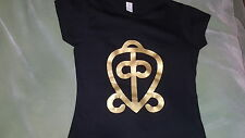 West African Adinkra ODO NNYEW FIE KWAN (power of love) tshirt