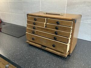 MOORE AND WRIGHT ENGINEERS TOOL BOX MOORE AND WRIGHT CABINET M & W CASE CHEST