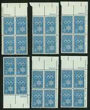1960 4c US Postage Stamps Scott 1146 Winter Olympics Lot of 24