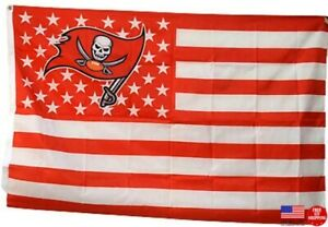 Buccaneers FLAG 3X5 Tampa Bay 3 x 5 Banner New Fast USA Ship Tampabay Bucs Buccs