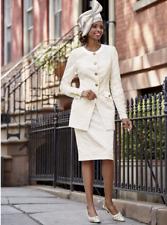 Kaden Skirt Suit Ashro White Formal Wedding Dress Church 10 12 14 16W 18W 20W