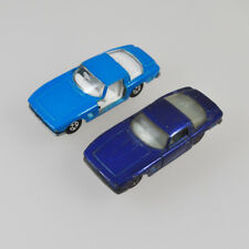 2 x Matchbox Series - Superfast No. 14 - Iso Grifo - Lesney England - blau blue