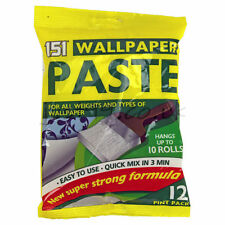 10 Roll Wallpaper Paste All Purpose Super Strong Stick Adhesive Glue 12 Pt
