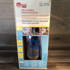 Chapin 1254 2 Gallon Stainless Steel Sprayer
