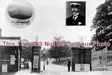 LO 739 - Dr Barton's Dirigible Airship, Alexandra Palace, London - 6x4 Photo