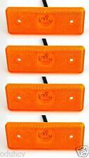 4x LED marcador Luces de posición CAMIÓN TRAILER PANEL 24v FURGONETA CARAVANA