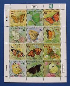 Marshall Islands (#821) 2003 Butterflies IV MNH sheet