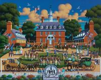 Jigsaw Puzzle Explore America Williamsburg Virginia 500 pieces NEW Made in USA