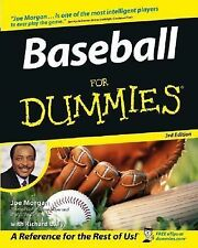 Baseball for Dummies by Joe Morgan, Sparky Anderson and Richard Lally (2005, Pap