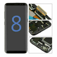 OLED For Samsung Galaxy S8 G950 S8 PLUS LCD Display Touch Screen Digitizer Frame