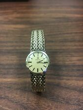 Vintage Omega Ladies Watch 10K Gold Filled