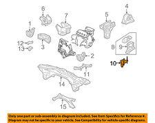 HONDA OEM 99-00 Civic ENGINE-Side Mount Bracket 11910P30000